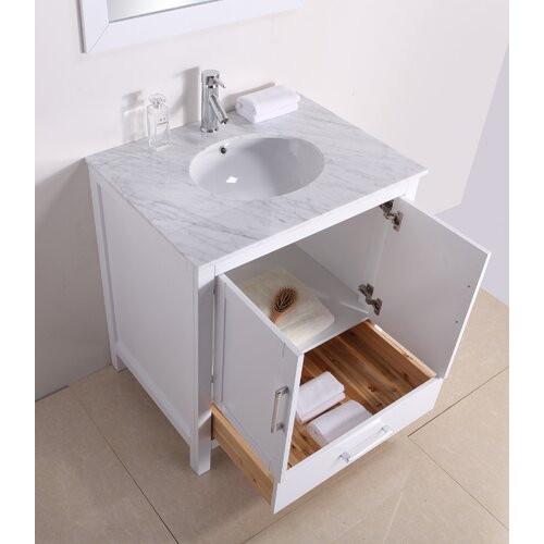 "Virtu Savannah 28.5"" Bathroom Vanity Set"