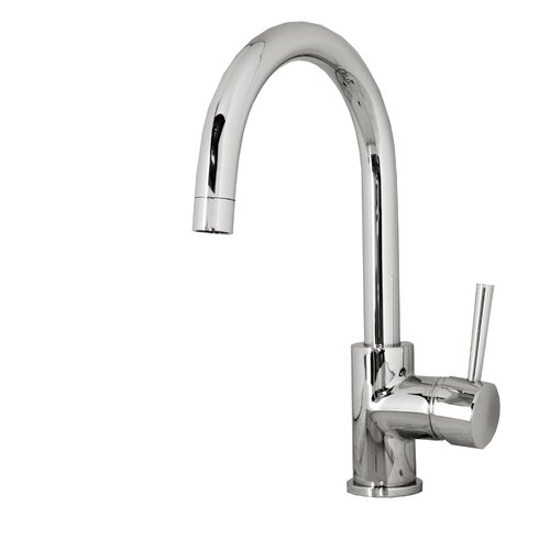 Virtu Keplen Single Handle Single Hole Kitchen Faucet