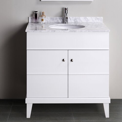 "Virtu Khloe 33.6"" Bathroom Vanity Set"