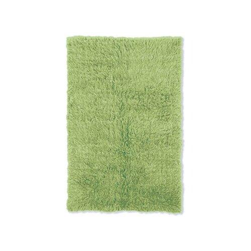 Flokati Lime Green Rug