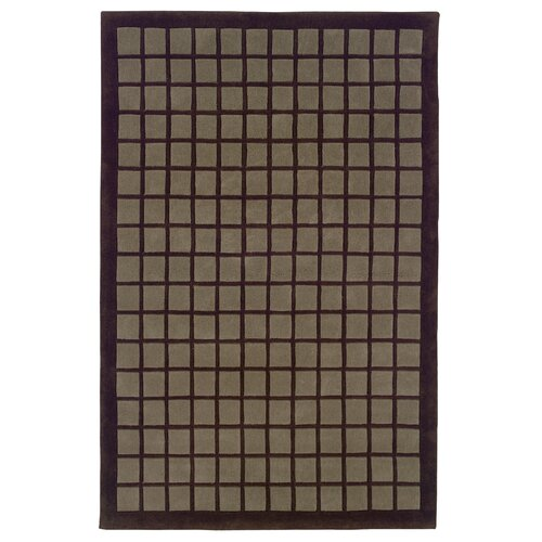 Linon Rugs Trio Chocolate/Smoke Rug