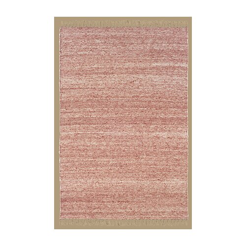 Verginia Berber Red/Natural Rug