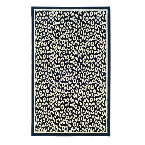 Linon Rugs Capri Black/Ivory Rug