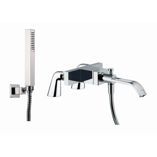 Fima by Nameeks Bio Shock Single Handle Deck Mount Diveter Tub Faucet with Hand Shower