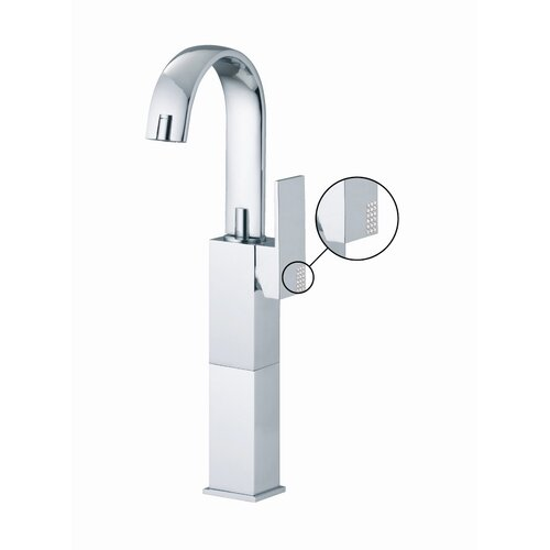 Brick Single Hole Bathroom Sink Faucet with Single Handle