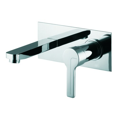Fima by Nameeks Matrix Wall Mounted Bathroom Sink Faucet with Single Handle