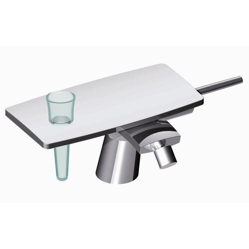 De Soto Single Handle Horizontal Spray Centerset Faucet
