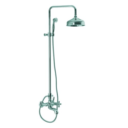 Fima by Nameeks Olivia Wall Mount Thermostatic Tub and Shower Faucet with Hand Shower