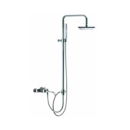 Fima by Nameeks Bio Shock Wall Mount Diveter Tub and Shower Faucet with Hand Shower