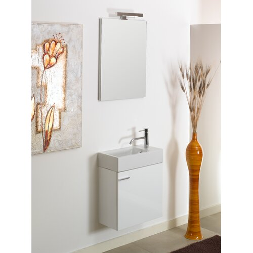 "Iotti by Nameeks Lola 20.7"" Wall Mounted Bathroom Vanity Set"