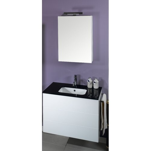 "Iotti by Nameeks Time 31.5"" Wall Mounted Bathroom Vanity Set"