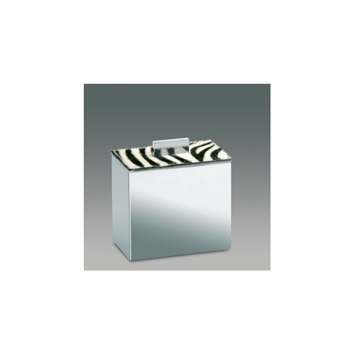 Zebra Bathroom Jar