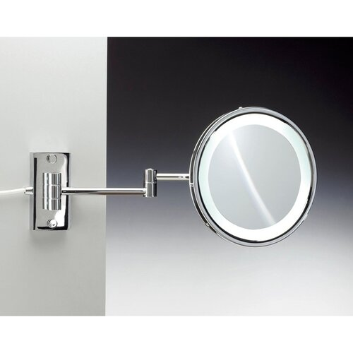 Brown Leather Makeup Mirror