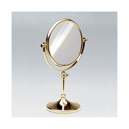 Windisch by Nameeks Free Standing 7X Magnifying Mirror with Optical Grade Glass