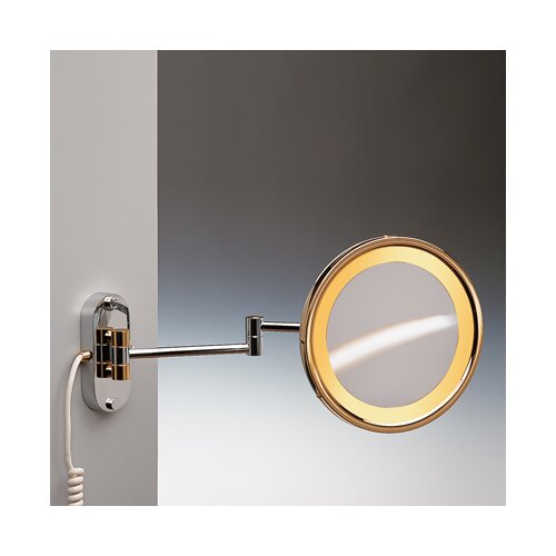 Windisch by Nameeks Incandescent Light Extendable 5X Magnifying Mirror