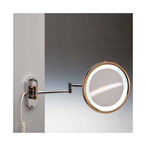 Fluorescent Light 5X Magnifying Mirror with Direct Connection