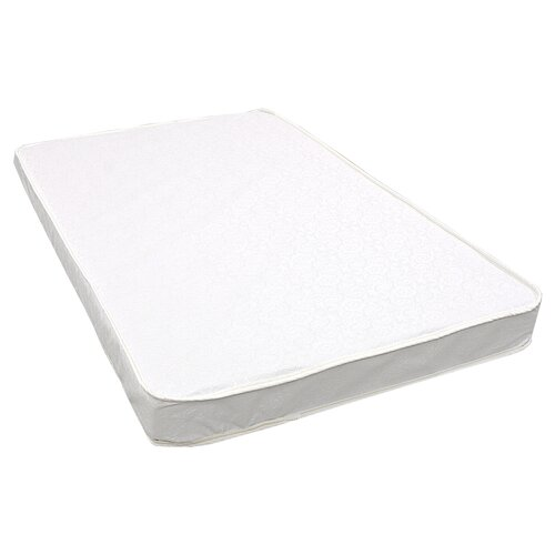 L.A. Baby Triple Laminated Compact Crib Mattress