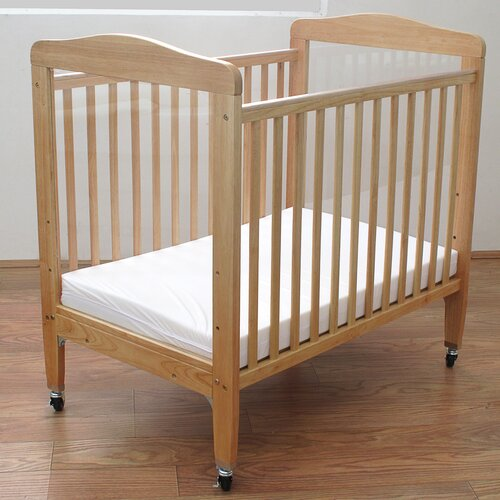 L.A. Baby Compact Wooden Window Crib