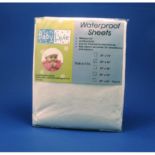 L.A. Baby Waterproof Pack n Play Sheet