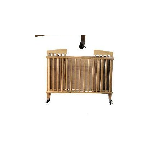 L.A. Baby Full Size Wood Folding Crib