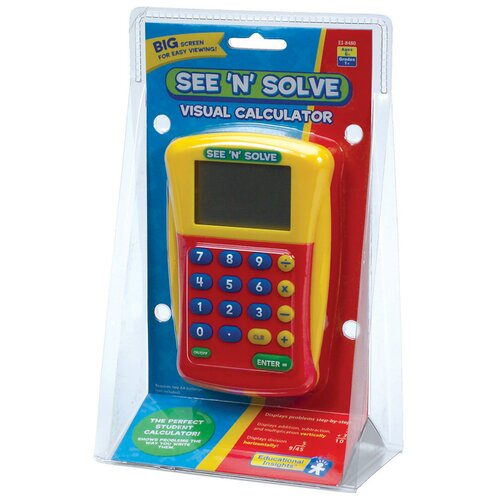 Educational Insights See 'n' Solve Visual Calculator