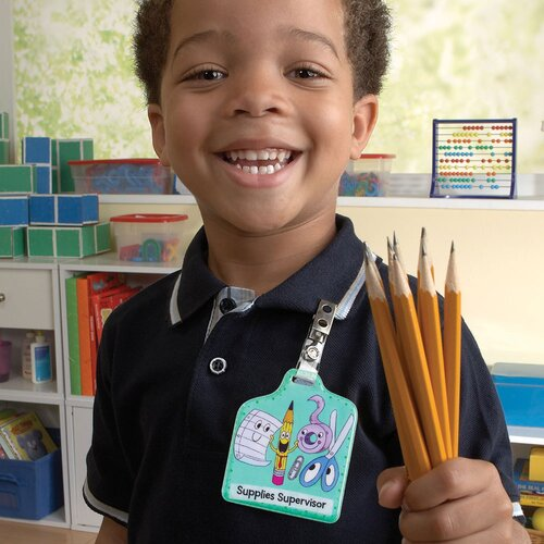 Educational Insights That's My Job Classroom Responsibility Badges