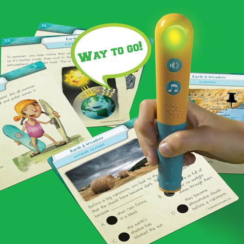 Educational Insights Hot Dots Science Set Earth and Weather