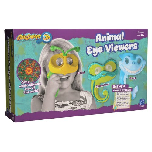 3 Piece Geosafari® Jr. Animal Eye Viewers Set