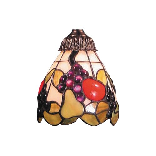 "Landmark Lighting 5.25"" Mix-N-Match Glass Bell Pendant Shade"