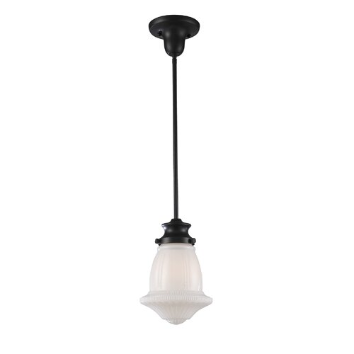 Landmark Lighting 1 Light Schoolhouse Pendant