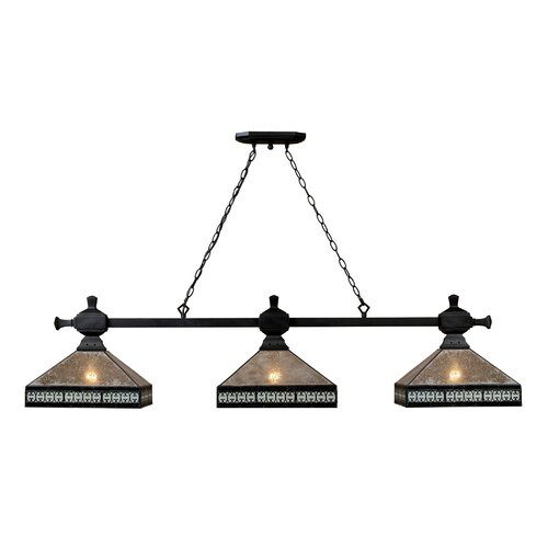Landmark Lighting Mica Filagree 3 Light Pendant