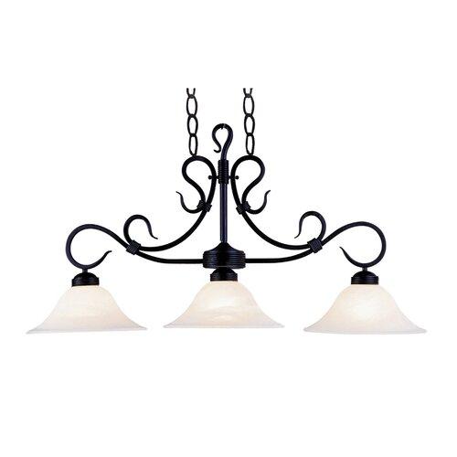 Buckingham 3 Light Pendant