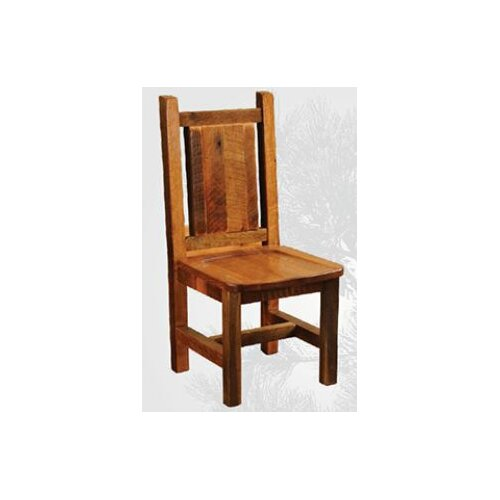Artisan Barnwood Dinisng Side Chair in Antique Oak