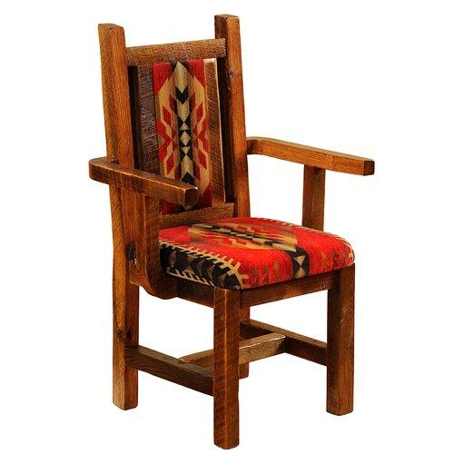 Artisan Barnwood Arm Chair