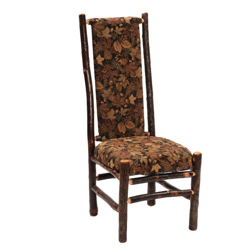 Fireside Lodge Hickory Upholstered Side Chair