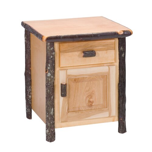 Fireside Lodge Hickory Nightstand