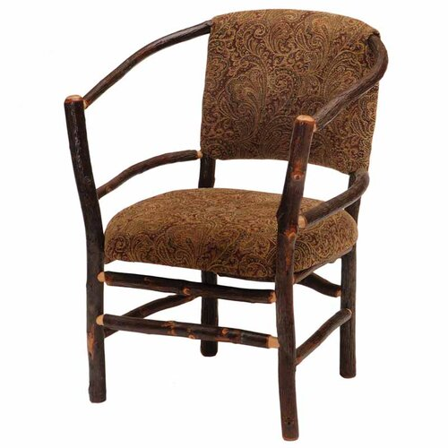 Hickory Hoop Arm Chair