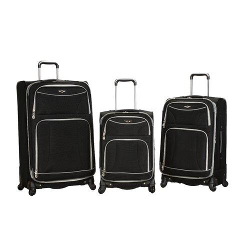 Rockland 3 Piece Luggage Set