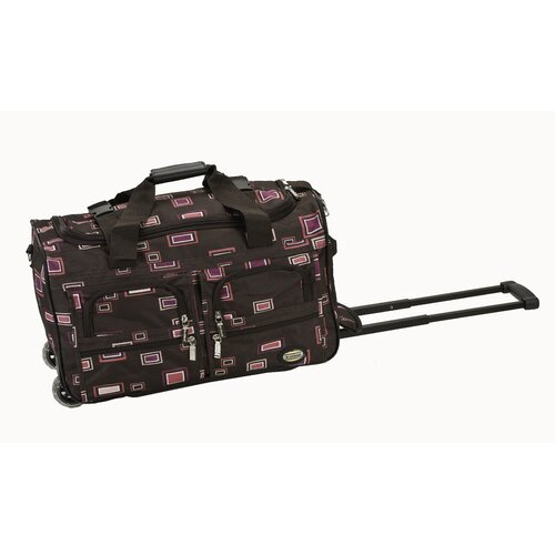 "Rockland 22"" 2-Wheeled Travel Duffel"