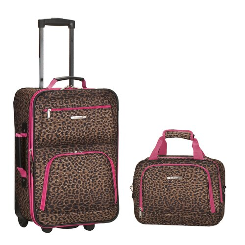 Rockland 2 Piece Carry On Luggage Set