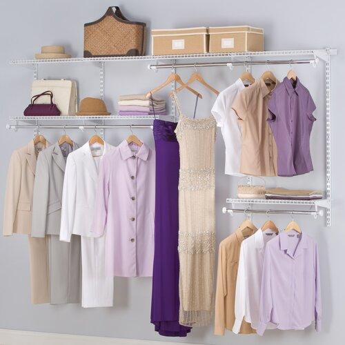 "Rubbermaid Configurations 96"" Deep Closet Set"