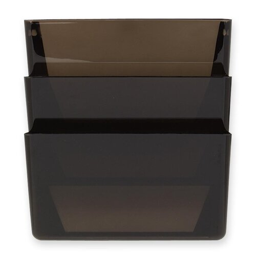 Rubbermaid Stak-A-File 3 Pocket Wall File