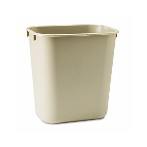 Rubbermaid 3.5-Gal. Deskside Wastebasket