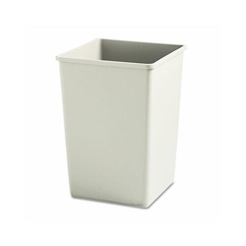 Rubbermaid Commercial Plaza™ 35-Gal. 35-Gal. Square Wastebasket