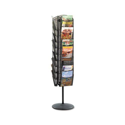 Rubbermaid 9 Pocket Image Classic Hot File Floor Stand