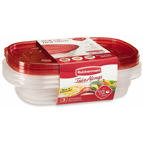 Rubbermaid Take Alongs Rectangular Container