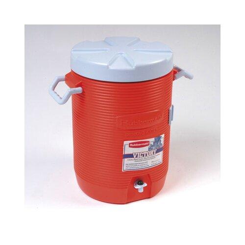 "Rubbermaid 16"" Dia. Insulated Beverage Container in Orange"