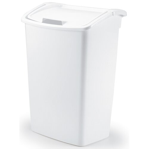 Rubbermaid 11.25-Gal. Dual Action Wastebasket