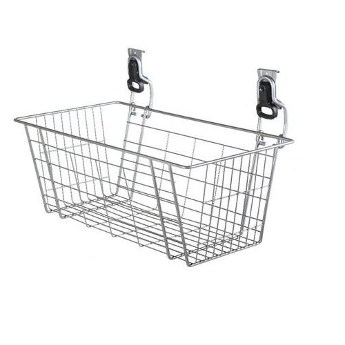 "Rubbermaid 24"" FastTrack® Mesh Basket FG5E08FTSNCKL"