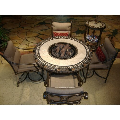Sundance Southwest Traditional Style Fire Table